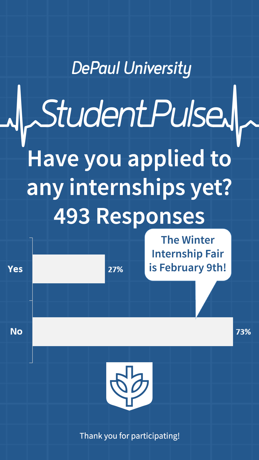 Have you applied to any internships yet?