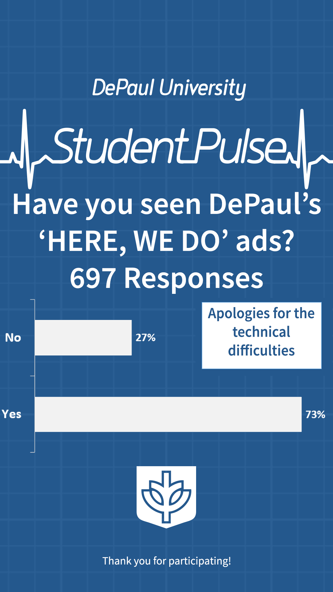 Have you seen DePaul's 'HERE, WE DO' ads?